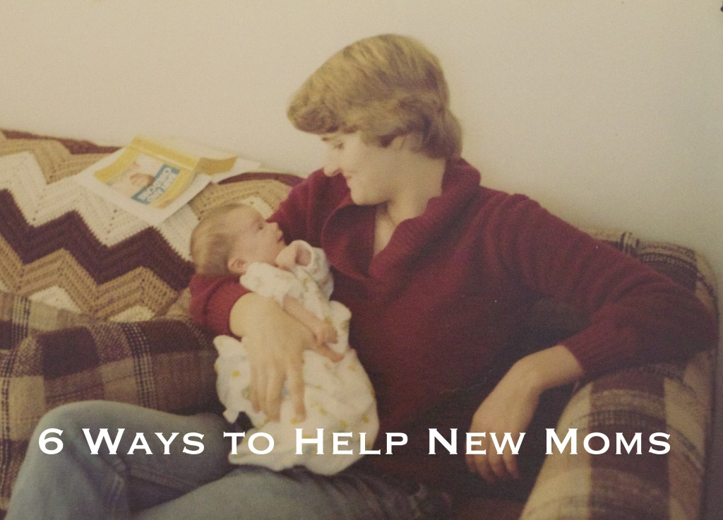 On The Champagne Supernova blog: how to help a new mom after she has a baby! http://thechampagnesupernova.com/2015/09/it-takes-a-village-6-ways-to-help-a-new-mom/