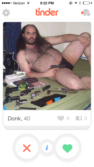 Hilarious Tinder Profiles courtesy of The Champagne Supernova; http://thechampagnesupernova.com/2015/10/funny-tinder-profiles/