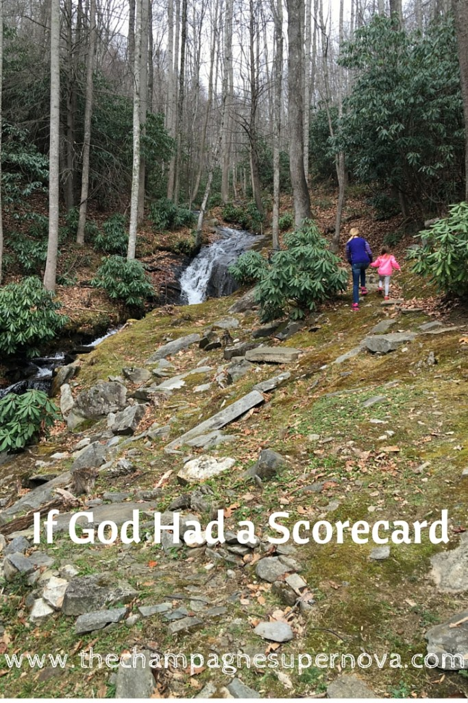 The Champagne Supernova: if God had a Score Card: http://thechampagnesupernova.com/2015/12/if-god-had-a-score-card/