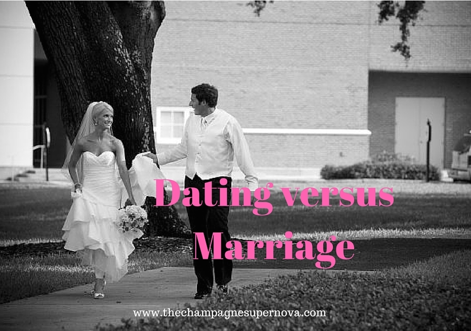 The difference between dating and marriage | The Champagne Supernova