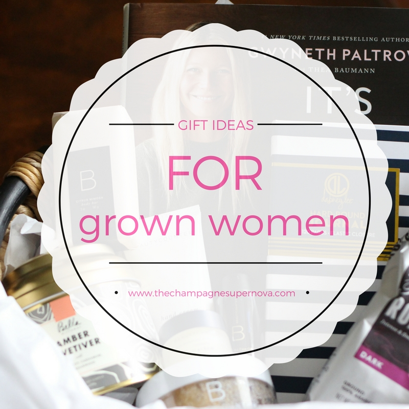 Gift ideas for women reflecting what women ACTUALLY want | The Champagne Supernova