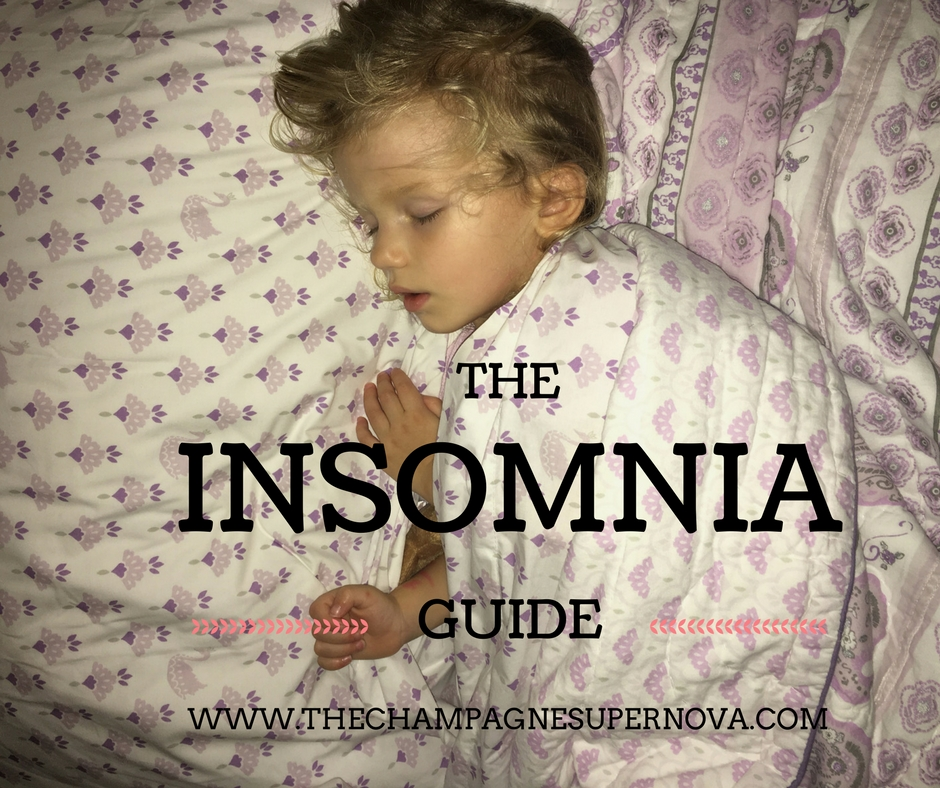 Tips for How to Cure Insomnia | The Champagne Supernova