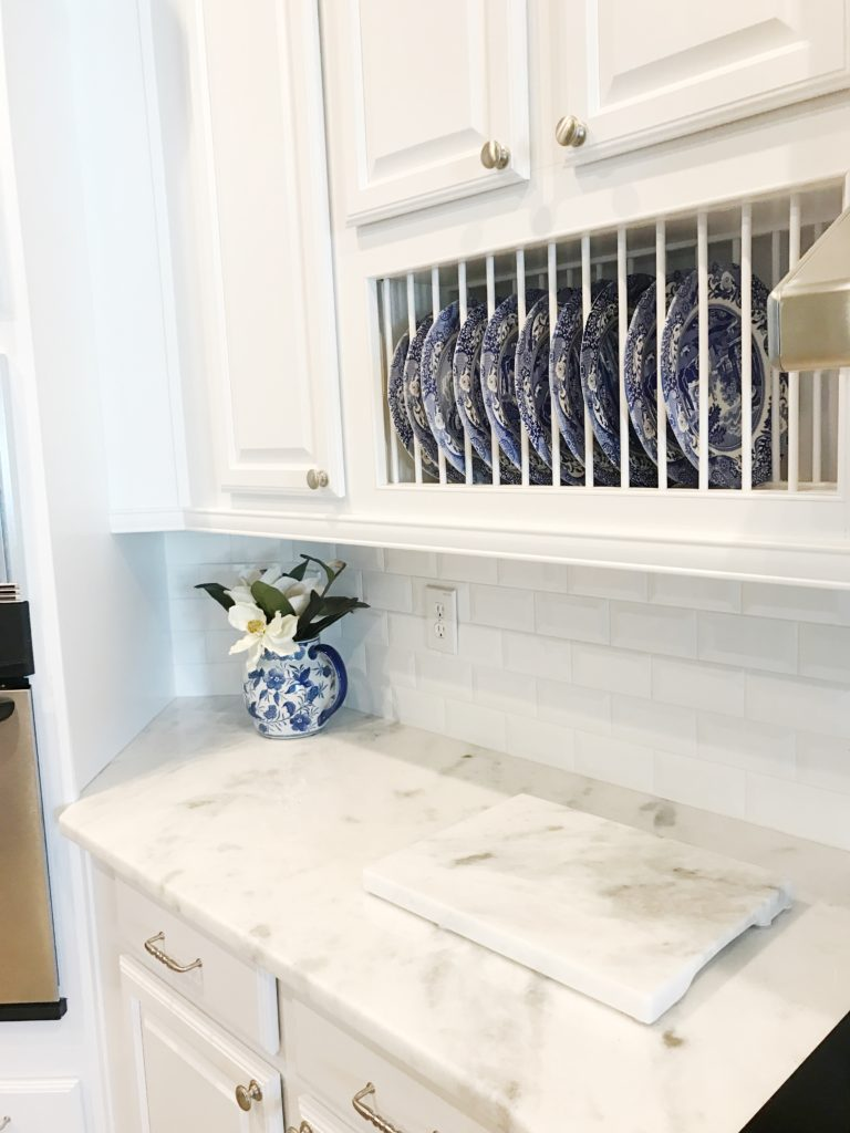 White kitchen remodel before and after | The Champagne Supernova