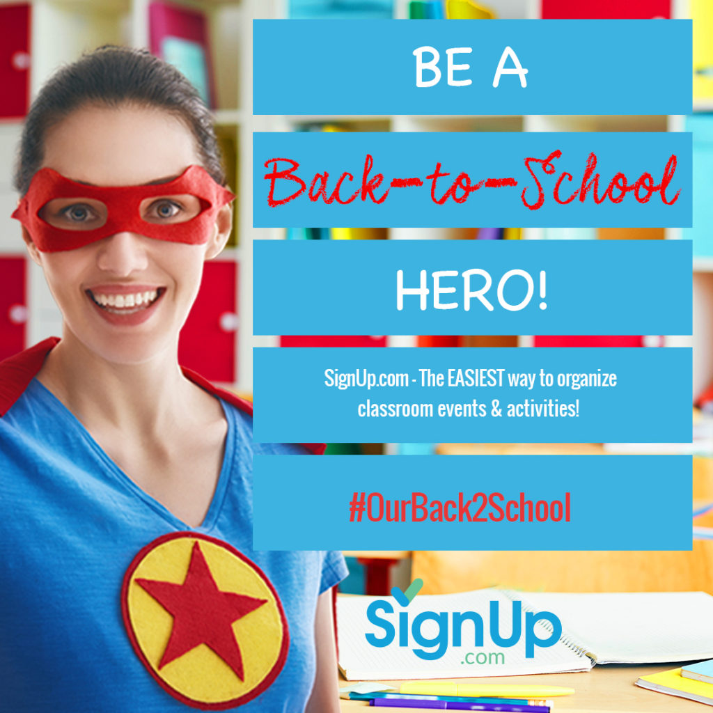 You can be a back to school hero with SignUp.com | The Champagne Supernova