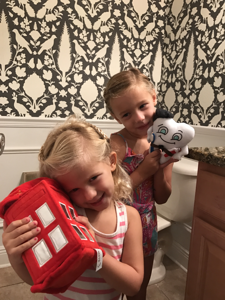How to encourage kids to brush their teeth with Tooth in the Booth | The Champagne Supernova