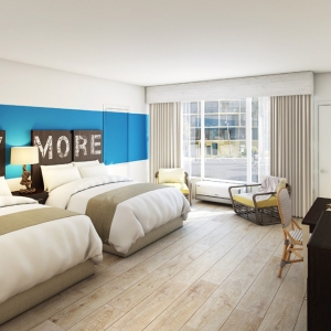the new guest rooms at the Sirata | The Champagne Supernova