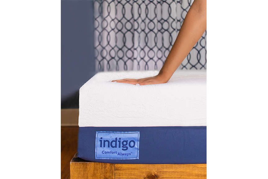 Bed in a box with Indigo Sleep | The Champagne Supernova