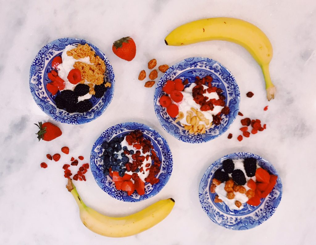 Create your own yogurt bar with FAGE | The Champagne Supernova