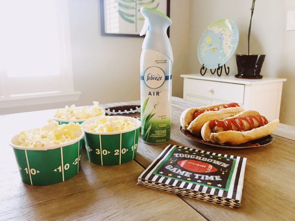 Prepare for your parties with Febreze | The Champagne Supernova