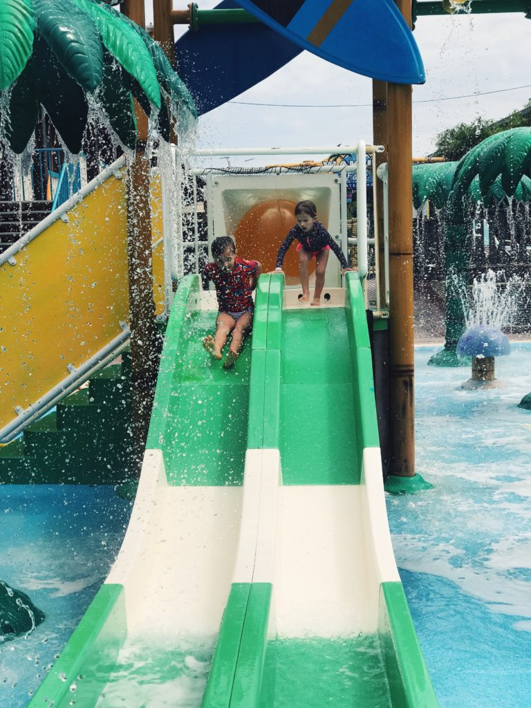 Splash pad at the Westgate Cocoa Beach Resort | The Champagne Supernova
