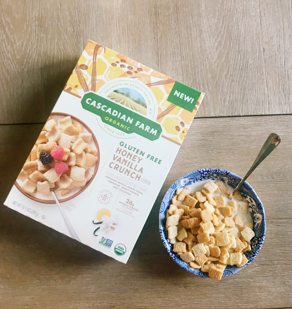 The Champagne Supernova + Cascadian Farm Organic Cereal