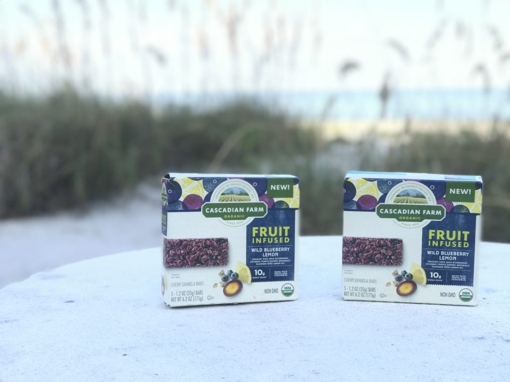 The Champagne Supernova + Cascadian Farm Organic Fruit Infused bars